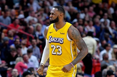 詹皇28分準大三元滅熱火、湖人客場13連勝 今日NBA戰績