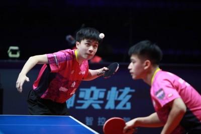 桌球年終賽》推不倒世界球王組合  林昀儒/廖振珽亞軍作收