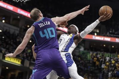 NBA》黃蜂雙槍狂打26鐵 溜馬A.哈勒戴第四節飆分助隊3連勝