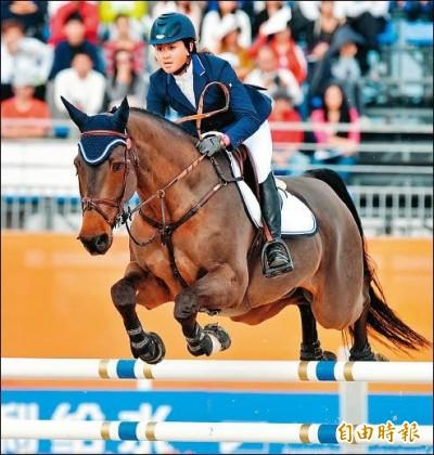 馬術》奧運積分分組第一  陳少曼篤定獲得奧運門票