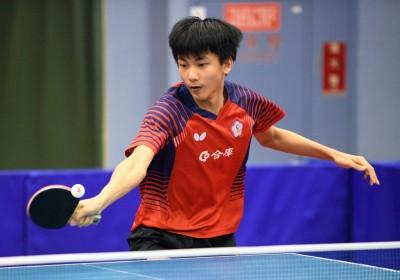 桌球》團體世錦賽國手選拔 16歲小將黃彥誠爆冷入選