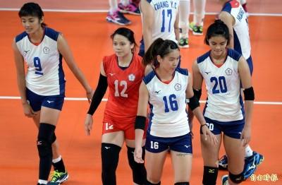 奧運資格賽》第二局無預警跳電!台灣女排不敵泰國