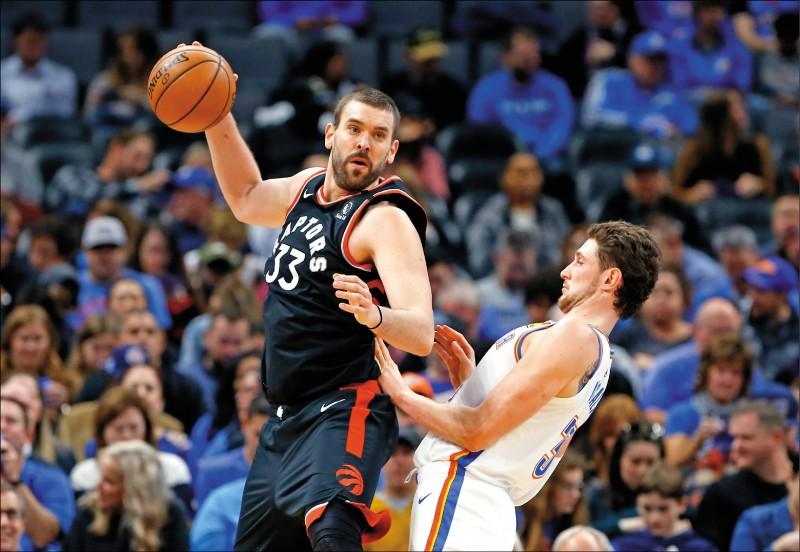 NBA》加索6顆三分彈 暴龍140分獵巫