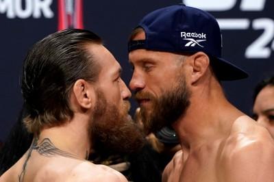 UFC》大戰一觸即發! 麥克雷格過磅創新高嗆「KO」