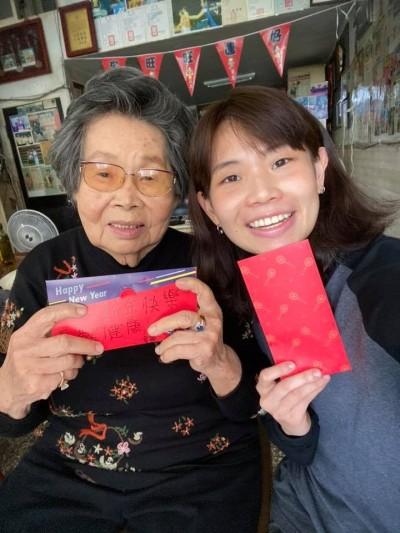 羽球》戴資穎尾牙抽到1萬塊 包紅包給奶奶展孝心