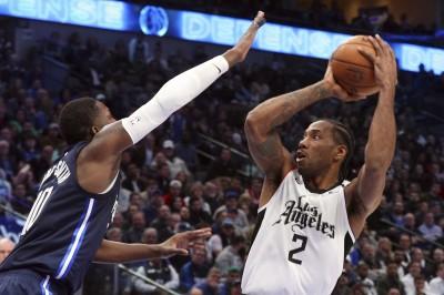 NBA》雷納德轟36分力壓東契奇 領軍快艇勇奪4連勝