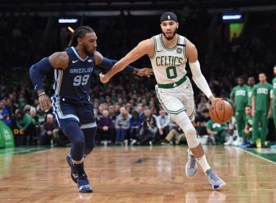 NBA》塔圖姆轟全場最高23分 綠衫軍主場大勝灰熊