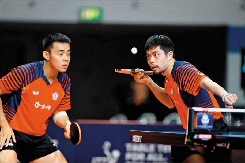 桌球男團資格賽再一勝 東奧門票入手