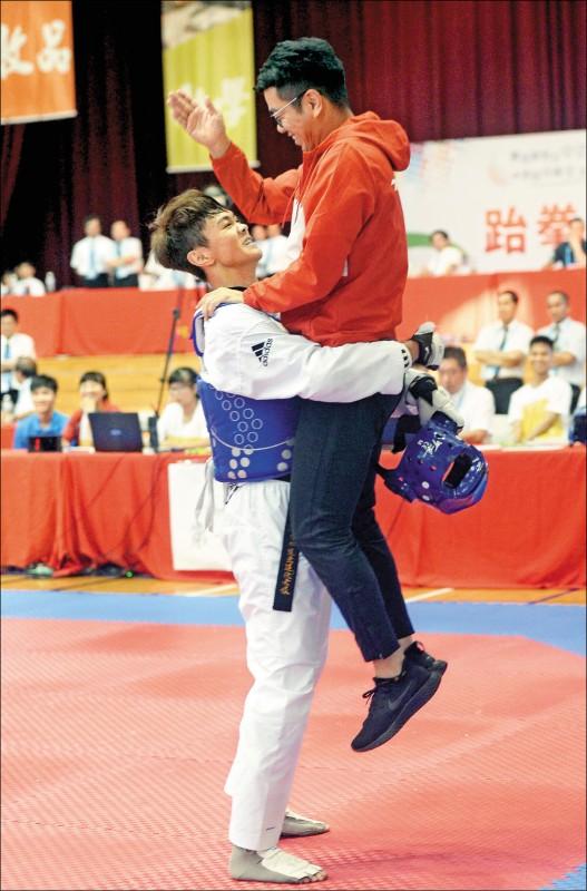 彰師大最佳男運動員》黃鈺仁 奧運門票勢在必得