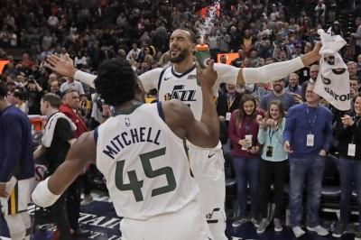 NBA》戈貝爾賞關鍵火鍋 爵士近15場拿14勝