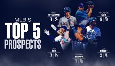 MLB》大聯盟百大新秀出爐! 光芒天才游擊手獲第一名