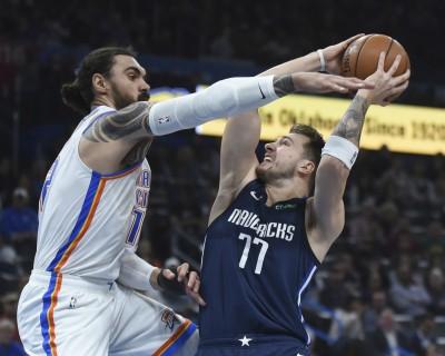 NBA》東契奇29分領軍 獨行俠19顆三分彈轟垮雷霆