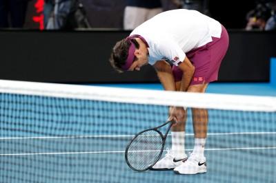 澳網》狂救7個賽末點!費德爾又死裡逃生闖4強