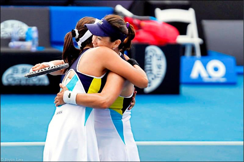 澳網》謝詹「雙」贏隔空較勁 今先後搶晉決賽