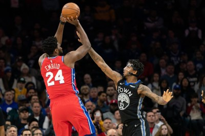 NBA》33秒靜默致敬布萊恩 「24號」恩比德砍24分擊敗勇士