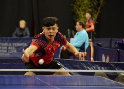 桌球》打爆新科日本冠軍 17歲馮翊新驚奇殺進8強