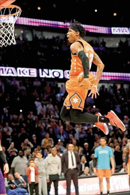 NBA明星週》威廉森灌壞籃框 不承認是凶手