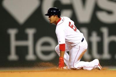 MLB》遭紅襪新同學「撞號」 林子偉將4度換背號