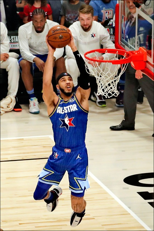 NBA明星賽年輕化 10顆新星高掛