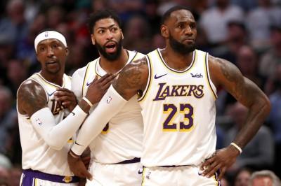 NBA》詹皇、一眉哥率隊打出佳績 專家嗆湖人是「冠軍騙子」