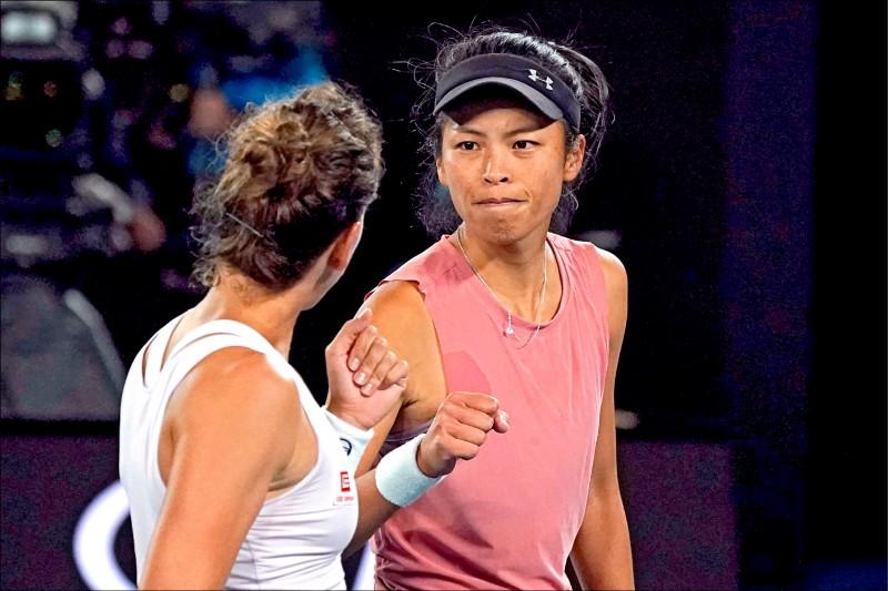 她與她的冠軍起點 謝淑薇再闖4強