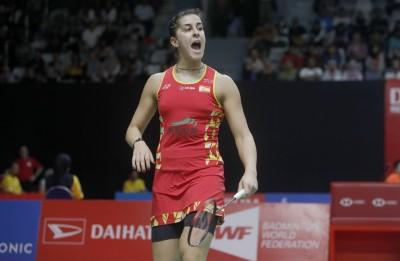 西班牙大師賽》瑪琳直落二闖決賽 明爭今年首冠