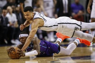 NBA》籃網8人得分上雙 客場大勝黃蜂29分