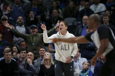 NBA》怒轟「裁判爛不是只有今天」 獨行俠老闆恐再吃罰單