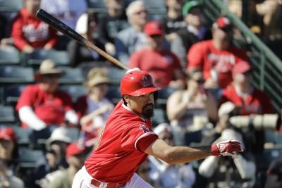 MLB》天使倫登初亮相打擊率100% 大谷翔平讚:好專業!