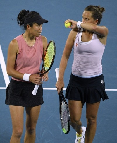 網球》謝淑薇杜哈女雙開胡晉8 詹家姊妹感冒退賽