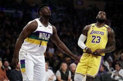 NBA》狀元對決敗陣 威廉森坦言「沒跟詹皇說過話」