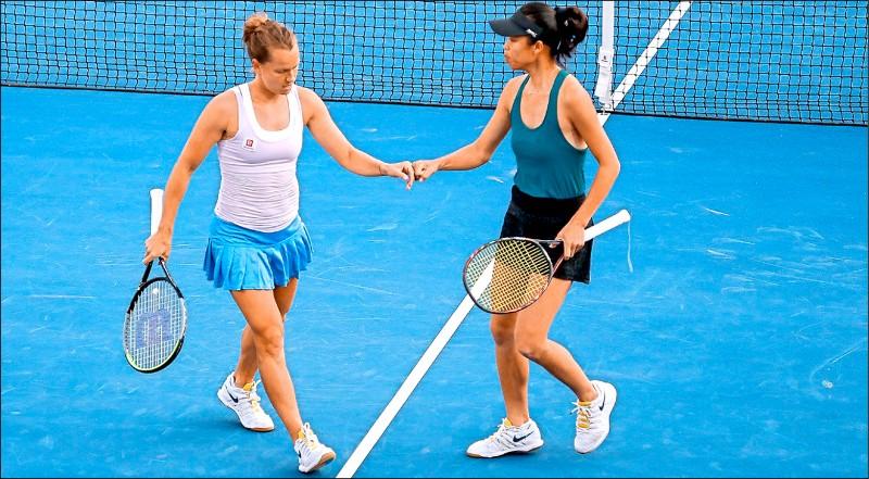 杜哈女網賽》謝淑薇奪回后座 力爭本季第3冠