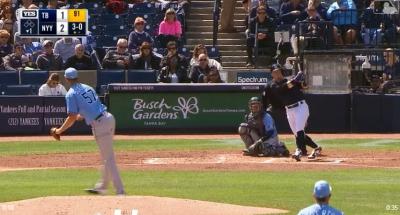 MLB》洋基小將轟超大號全壘打 球迷振奮:誰還需要史坦頓?