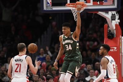 NBA》字母哥本賽季強勢表現 傳奇球星「大O」讚不絕口