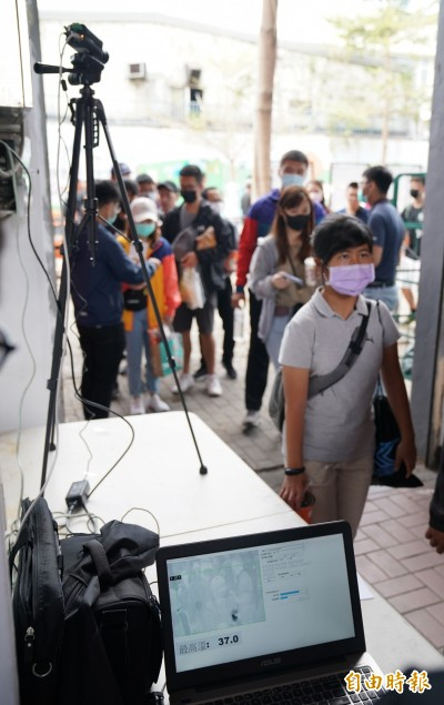 中職》熱身賽防疫措施 台南、斗六兩地都有熱像儀