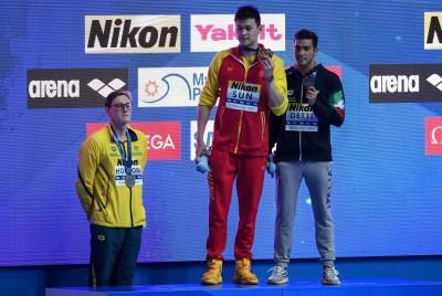 游泳》孫楊生涯恐結束 金牌泳將霍頓又遭中國網友出征