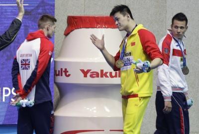 游泳》曾嗆人「魯蛇」 孫楊如今被禁賽8年遭外媒反酸