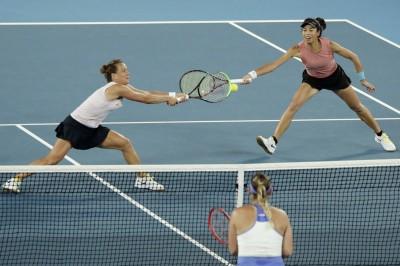 網球》謝淑薇組合杜哈奪冠 重返女雙世界后座