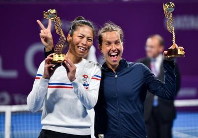 網球》橫掃中東雙冠寫歷史 謝淑薇成搭檔最安心的力量