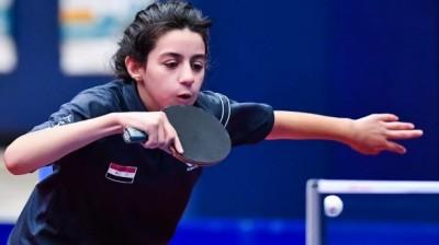 桌球》52年來最年輕! 11歲敘利亞神童爆冷封后奪奧運門票