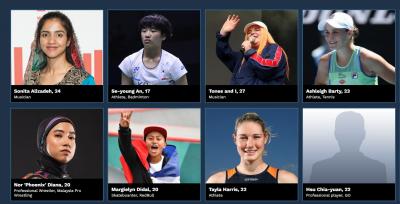 台灣體育界唯一入圍 《富比世》2020亞洲菁英榜揭曉