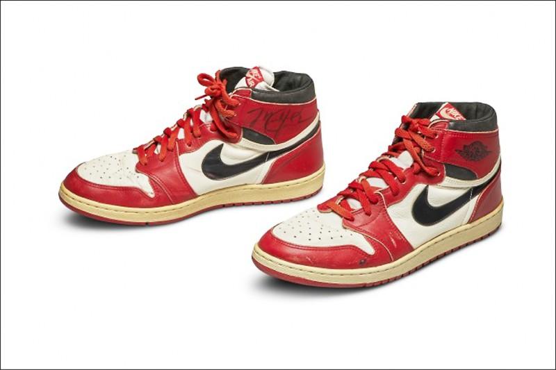 喬丹菜鳥年實戰鞋 天價1700萬成交