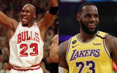NBA》詹姆斯「聲量」勝過喬丹 美媒提兩人最大不同