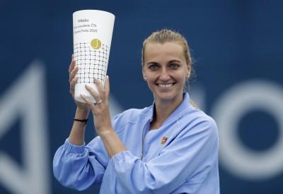網球》左手劍柯娃技高一籌 捷克表演賽強壓自家人封后