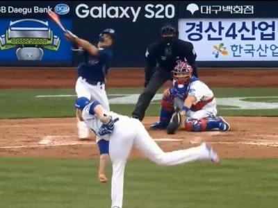 韓職》前費城人洋投超狂變速球 打者姿勢扭曲揮空三振(影音)
