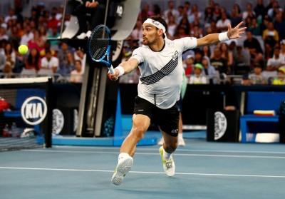 網球》停賽停太久 義大利老將利用時間進行腳踝手術