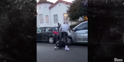 NBA》抗議示威趁亂砸車 J.R.史密斯爆氣狂毆白人暴徒(影音)