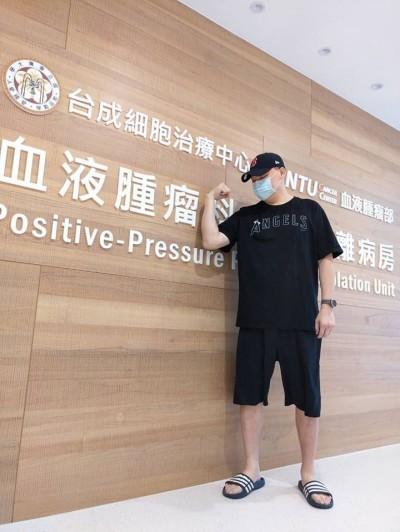 中職》「整整20天無法進食」 潘忠韋靠想家撐過中度化療