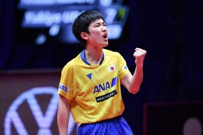 桌球》盛讚日本「怪物少年」   德國7冠王:他能終結中國長期壟斷