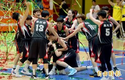 WSBL》國泰直落二解決台元奪10連霸 陳鈺君榮膺MVP